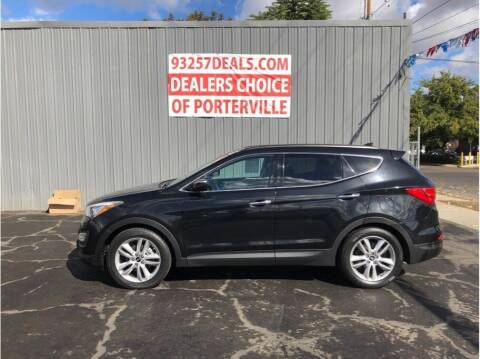 2015 Hyundai Santa Fe Sport for sale at Dealers Choice Inc in Farmersville CA