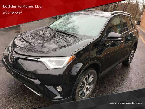 2018 Toyota RAV4 for sale at Eastclusive Motors LLC in Hasbrouck Heights NJ