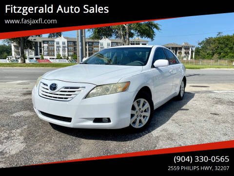 2008 Toyota Camry for sale at Fitzgerald Auto Sales in Jacksonville FL