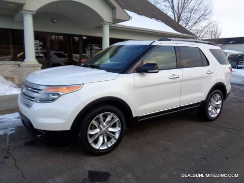 2014 Ford Explorer for sale at DEALS UNLIMITED INC in Portage MI