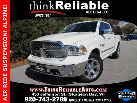 2016 RAM Ram Pickup 1500 for sale at RELIABLE AUTOMOBILE SALES, INC in Sturgeon Bay WI