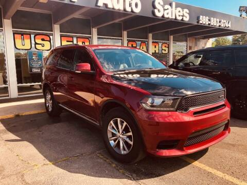 2014 Dodge Durango for sale at Daniel Auto Sales inc in Clinton Township MI