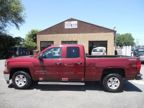 2014 Chevrolet Silverado 1500 for sale at All Cars and Trucks in Buena NJ