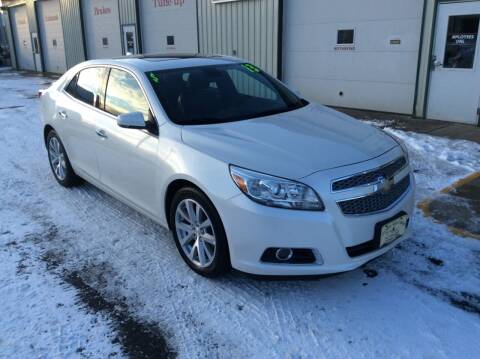 2013 Chevrolet Malibu for sale at TRI-STATE AUTO OUTLET CORP in Hokah MN