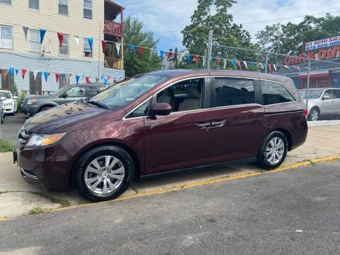 2014 Honda Odyssey for sale at G1 Auto Sales in Paterson NJ