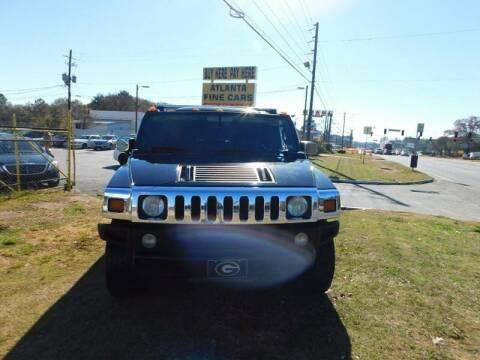 2005 HUMMER H2 for sale at Atlanta Fine Cars in Jonesboro GA