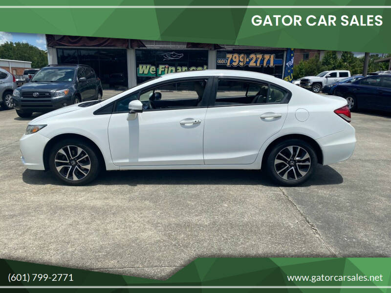 2014 Honda Civic for sale at Gator Car Sales in Picayune MS
