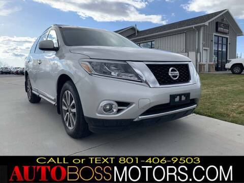 2015 Nissan Pathfinder for sale at Auto Boss in Woodscross UT