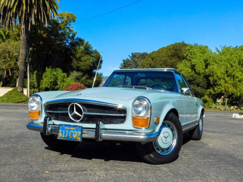 1971 Mercedes-Benz 280-Class for sale at Milpas Motors in Santa Barbara CA