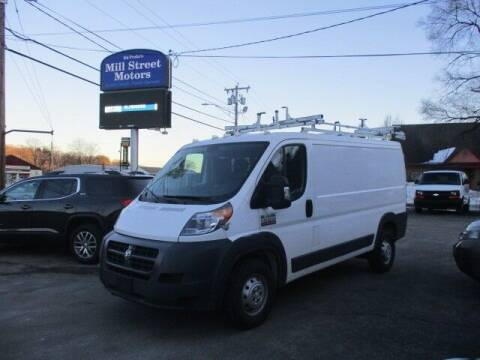 2017 RAM ProMaster Cargo for sale at Mill Street Motors in Worcester MA
