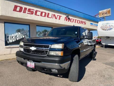 2006 Chevrolet Silverado 2500HD for sale at Discount Motors in Pueblo CO