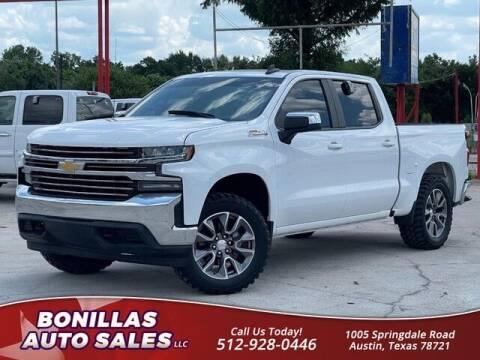 2020 Chevrolet Silverado 1500 for sale at Bonillas Auto Sales in Austin TX