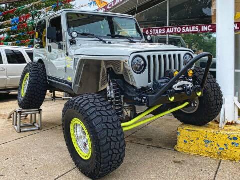 2000 Jeep Wrangler for sale at 6 STARS AUTO SALES INC in Chicago IL