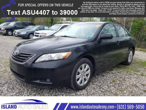 2007 Toyota Camry for sale at Island Auto Sales in E.Patchogue NY