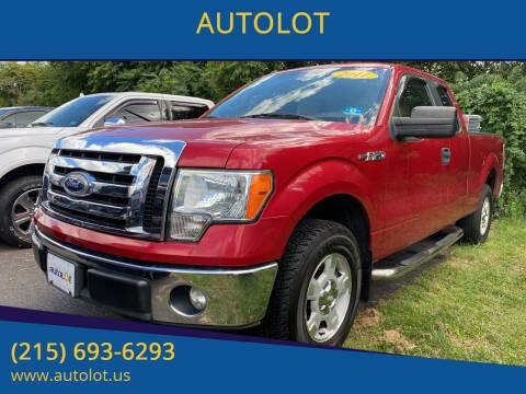 2011 Ford F-150 for sale at AUTOLOT in Bristol PA