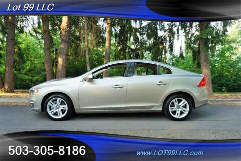 2014 Volvo S60 for sale at LOT 99 LLC in Milwaukie OR