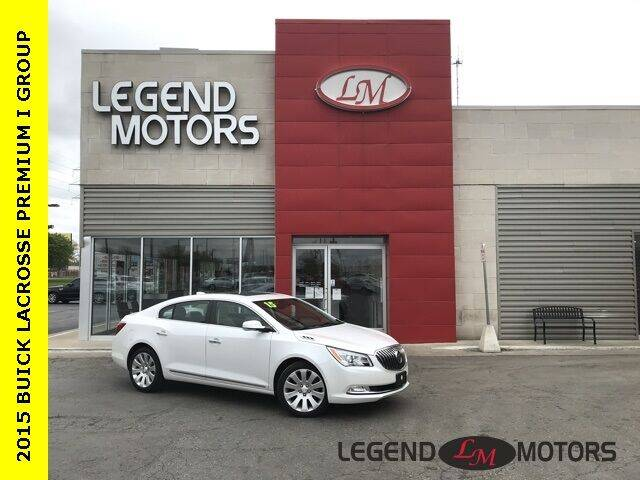 2015 Buick LaCrosse for sale at Legend Motors of Detroit - Legend Motors of Ferndale in Ferndale MI