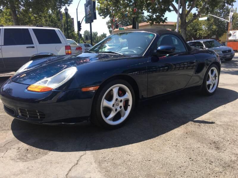 2002 Porsche Boxster for sale at MK Auto Wholesale in San Jose CA