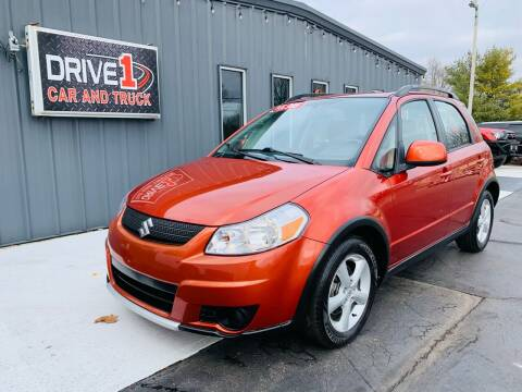 2007 Suzuki SX4 Crossover for sale at Drive 1 Car & Truck in Springfield OH