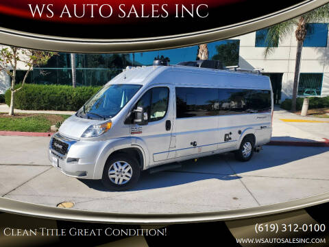 2019 RAM ProMaster Window for sale at WS AUTO SALES INC in El Cajon CA