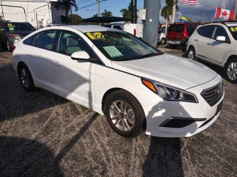 2017 Hyundai Sonata for sale at Brascar Auto Sales in Pompano Beach FL
