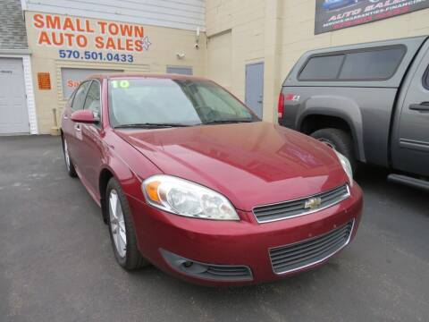 2010 Chevrolet Impala for sale at Small Town Auto Sales in Hazleton PA