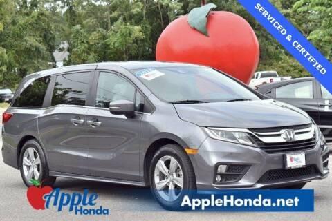 2018 Honda Odyssey for sale at APPLE HONDA in Riverhead NY