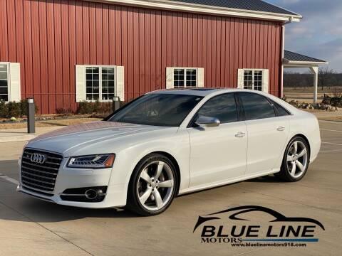 2015 Audi S8 for sale at Blue Line Motors in Bixby OK