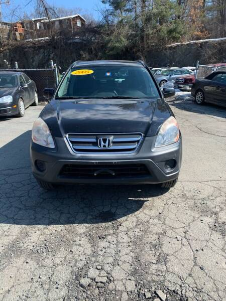 2005 Honda CR-V for sale at ALAN SCOTT AUTO REPAIR in Brattleboro VT