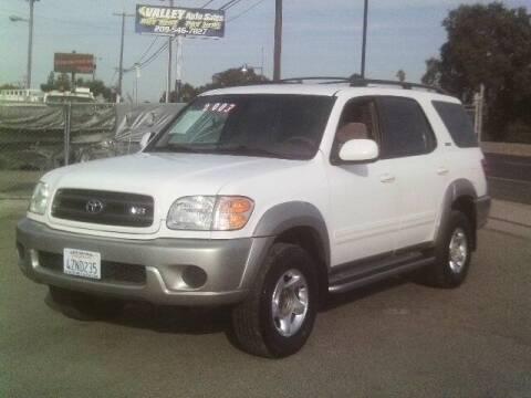 2003 Toyota Sequoia for sale at Valley Auto Sales & Advanced Equipment in Stockton CA