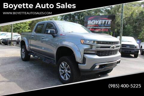 2019 Chevrolet Silverado 1500 for sale at Auto Group South - Boyette Auto Sales in Covington LA