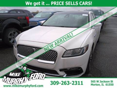 2017 Lincoln Continental for sale at Mike Murphy Ford in Morton IL