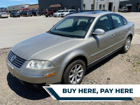 2004 Volkswagen Passat for sale at Family Auto in Barberton OH