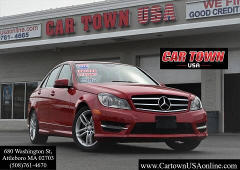 2014 Mercedes-Benz C-Class for sale at Car Town USA in Attleboro MA