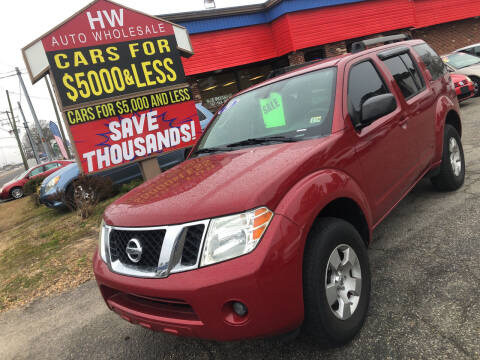 2010 Nissan Pathfinder for sale at HW Auto Wholesale in Norfolk VA