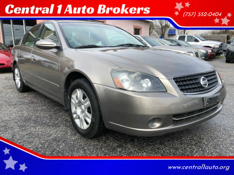 2006 Nissan Altima for sale at Central 1 Auto Brokers in Virginia Beach VA