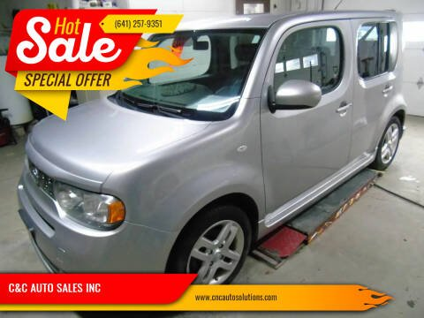 2010 Nissan cube for sale at C&C AUTO SALES INC in Charles City IA