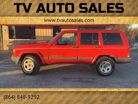 2000 Jeep Cherokee for sale at TV Auto Sales in Greer SC