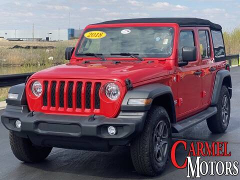 2018 Jeep Wrangler Unlimited for sale at Carmel Motors in Indianapolis IN