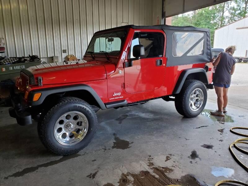 2006 Jeep Wrangler for sale at Grace Motors in Evansville IN