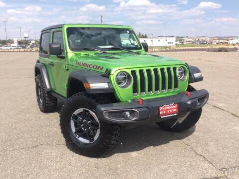 2019 Jeep Wrangler for sale at Rocky Mountain Commercial Trucks in Casper WY