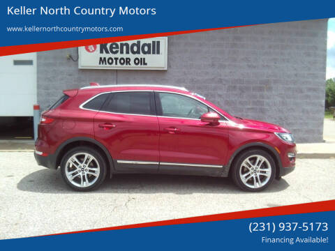 2017 Lincoln MKC for sale at Keller North Country Motors in Howard City MI