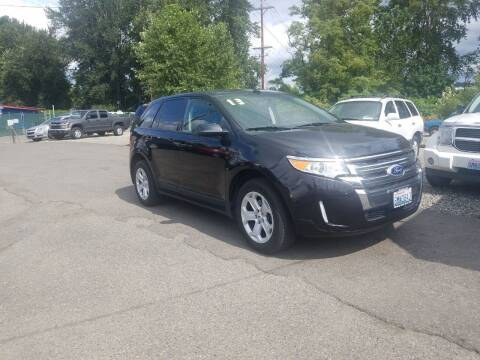 2013 Ford Edge for sale at Bonney Lake Used Cars in Puyallup WA