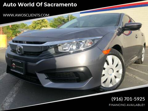 2017 Honda Civic for sale at Auto World of Sacramento Stockton Blvd in Sacramento CA
