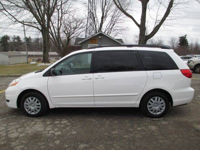2010 Toyota Sienna for sale at Mill Creek Auto Sales in Youngstown OH