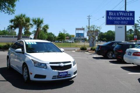 2014 Chevrolet Cruze for sale at BlueWater MotorSports in Wilmington NC