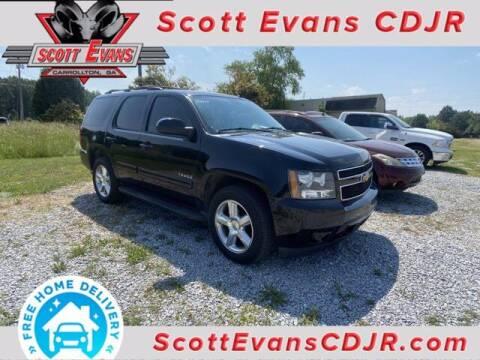 2012 Chevrolet Tahoe for sale at SCOTT EVANS CHRYSLER DODGE in Carrollton GA