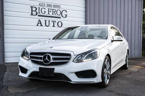2014 Mercedes-Benz E-Class for sale at Big Frog Auto in Cleveland TN