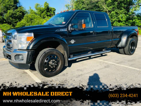2011 Ford F-450 Super Duty for sale at NH WHOLESALE DIRECT in Derry NH