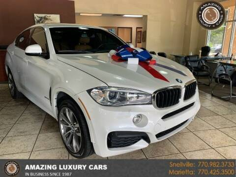 2016 BMW X6 for sale at Amazing Luxury Cars in Snellville GA